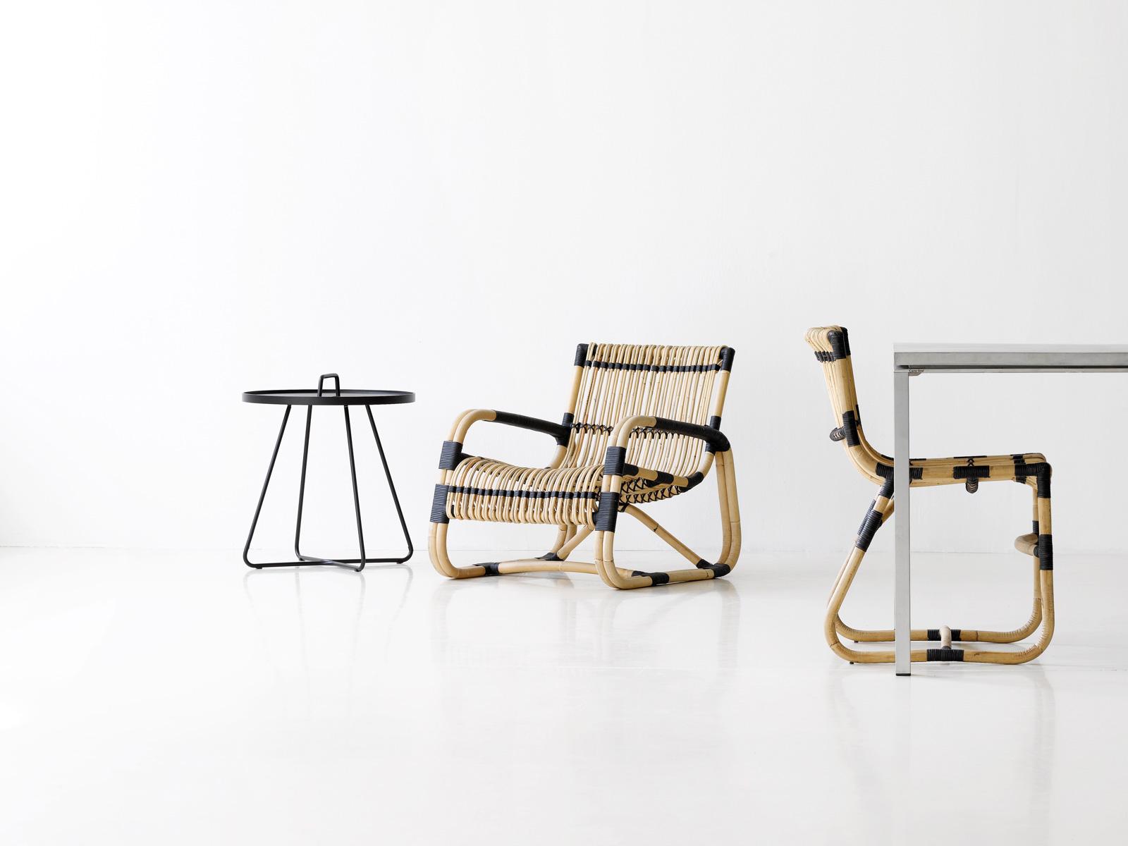 Curve Sessel und Stuhl